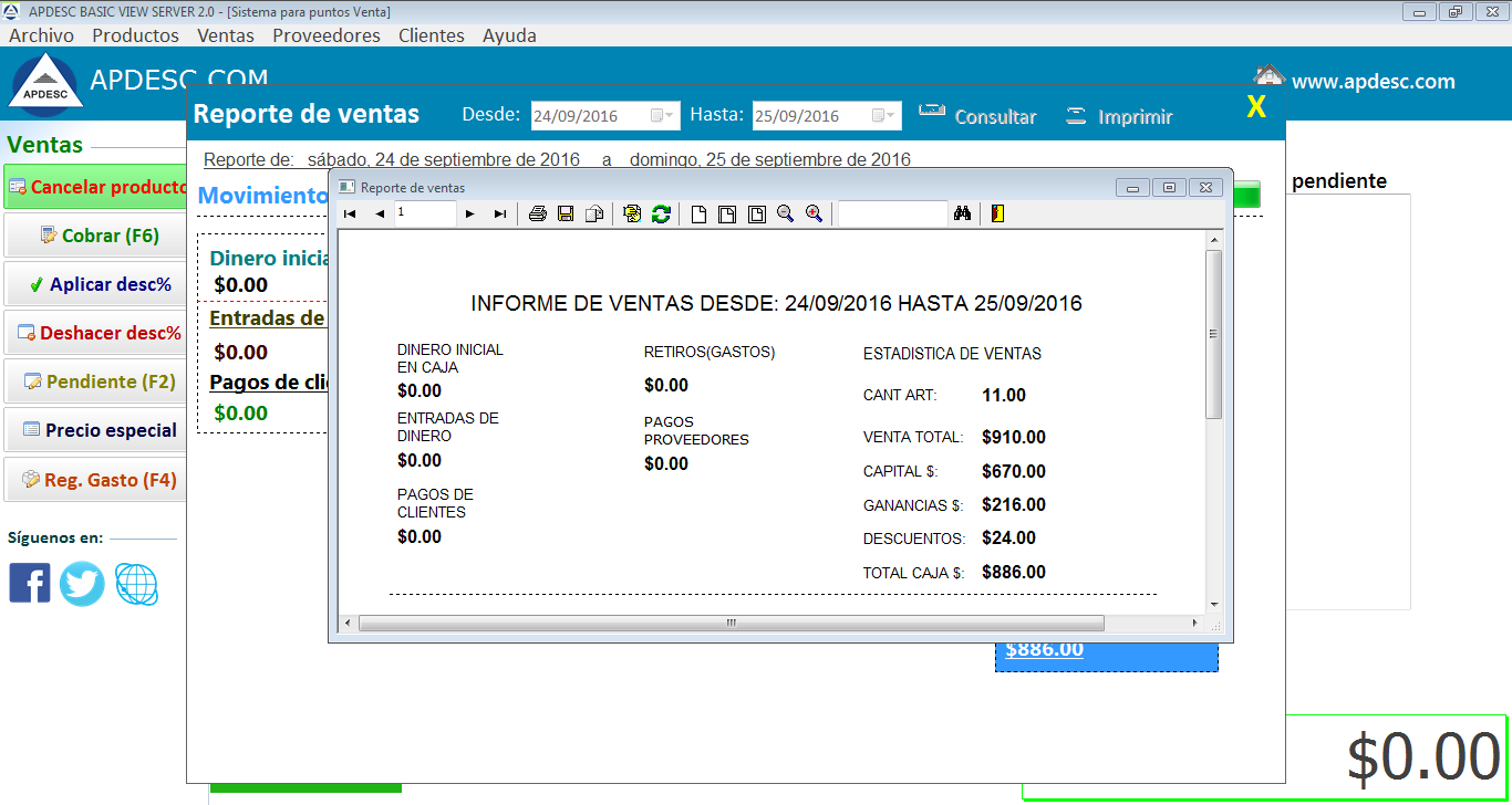Reporte 2 Apdesc Basic View Server 2.0